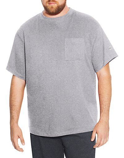 Champion Big & Tall Men's Short Sleeve Pocket Jersey Tee