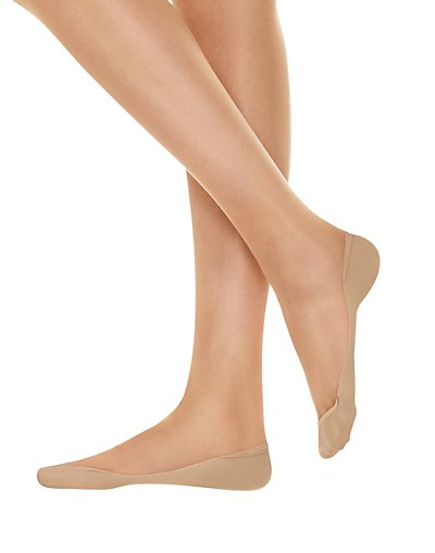 Hanes X-Low Microfiber Foot Cover 2-Pack