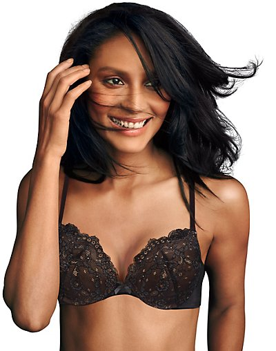 Maidenform Love the Lift® Push Up & In Lace Demi Bra