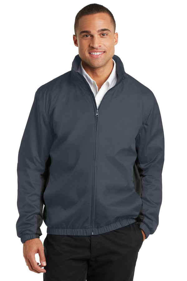 Port Authority® Core Colorblock Wind Jacket. J330