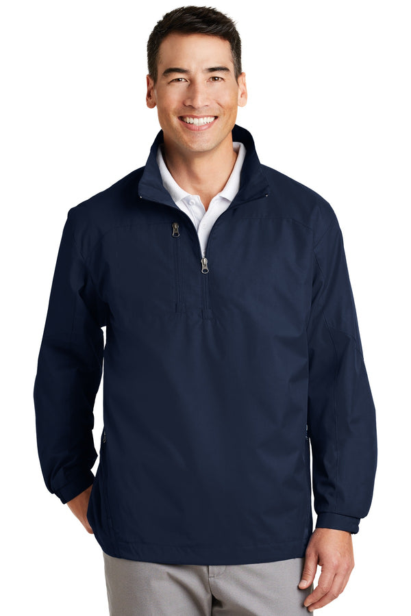 Port Authority® 1/2-Zip Wind Jacket. J703