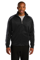 Sport-Tek® Piped Tricot Track Jacket. JST92