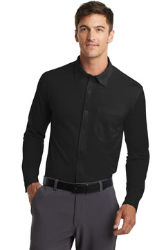 Port Authority® Dimension Knit Dress Shirt. K570