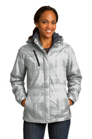 Port Authority® Ladies Brushstroke Print Insulated Jacket. L320