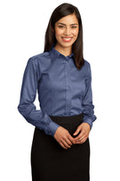 Red House® - Ladies Non-Iron Pinpoint Oxford Shirt.  RH25