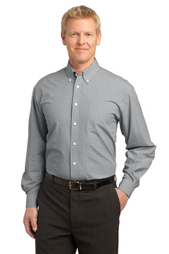 Port Authority® Plaid Pattern Easy Care Shirt. S639