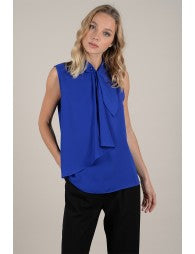 Lisa Sleeveless Blouse - Luxe Boutique