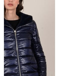 Navy Reversible Parka - Luxe Boutique