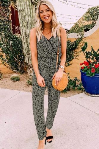 Hudson Faux Wrap Jumpsuit