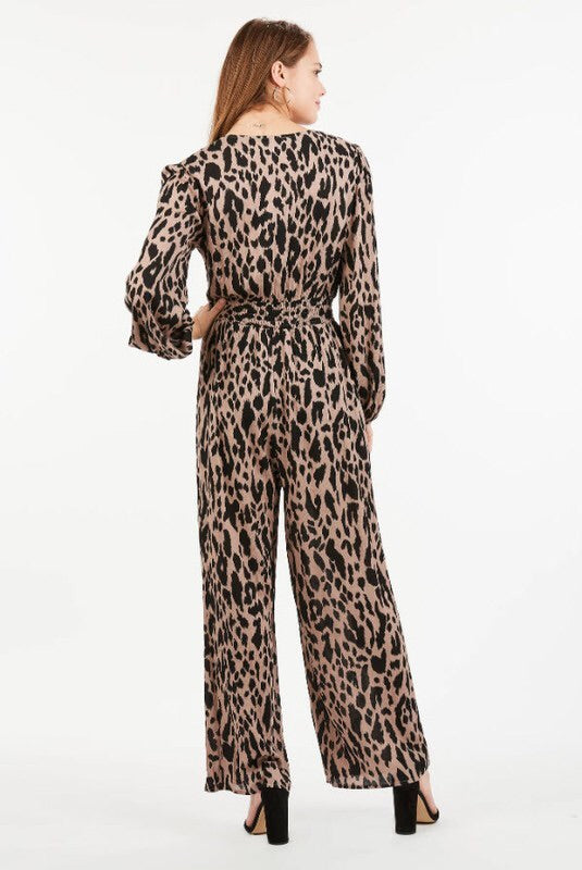 It's a Jungle Out There Jumpsuit - Luxe Boutique