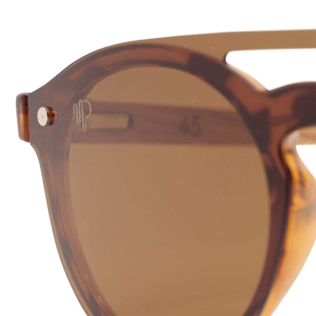 PULSE SUNGLASSES LEOPARD Buy Best Round Shape Brown Polarized Glasses | LEOPARD