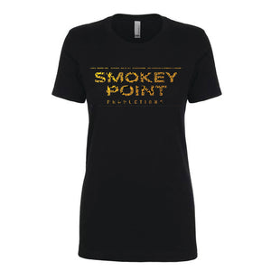 Ladies Smokey Point Tee // Oil