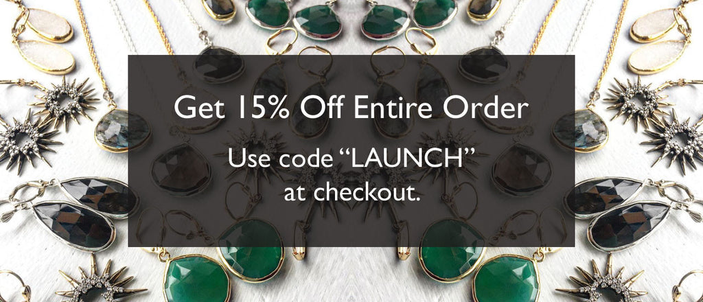 Help Us Celebrate Our Site Launch With 15% Off!
