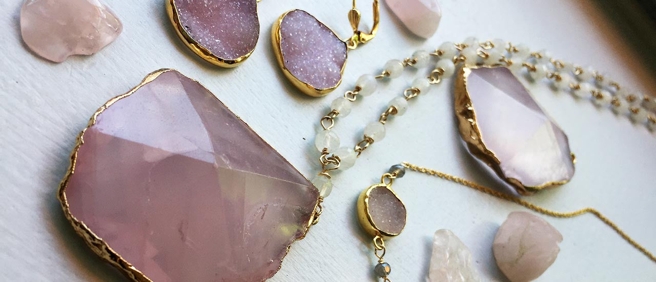 Rose Quartz Jewelry – We're In Love With The Love Stone