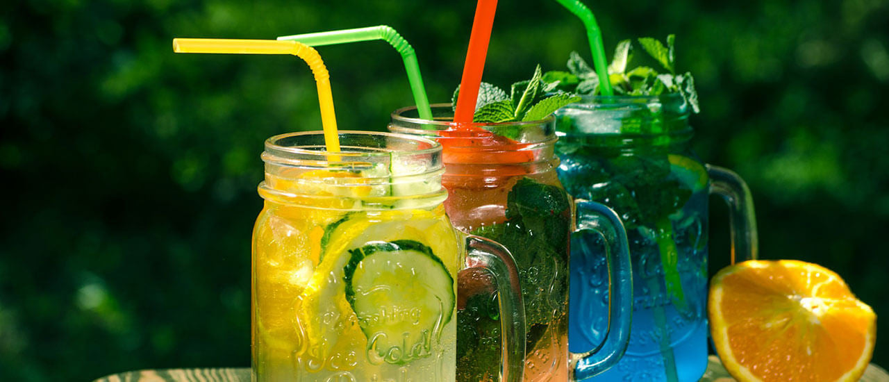 Infused Water Drinks