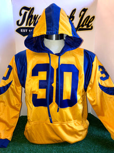 COLOR RUSH STYLE PULLOVER HOODIE