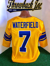 Load image into Gallery viewer, 1950's STYLE YELLOW JERSEY w/ WHITE TRIMMED NUMBERS