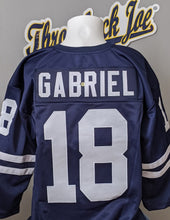 Load image into Gallery viewer, 1960's STYLE NAVY JERSEY w/ STRIPES - SIZE 3XL - GABRIEL #18