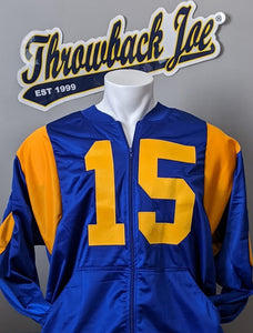 1973 - 1999 VARSITY STYLE ZIP UP JACKET