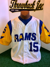 LA Rams Away Baseball Style Jersey