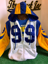 1973-99 LA Rams Away  Zip-up Hoodie