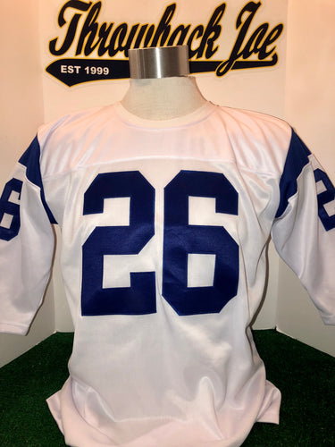 1960's STYLE HOME JERSEY w/ WHITE CREW NECK