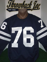 Load image into Gallery viewer, 1960's STYLE AWAY DARK NAVY BLUE JERSEY w/ CREW NECK