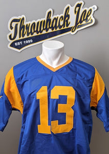 1973-1999 STYLE HOME JERSEY - SIZE XL - WARNER  #13