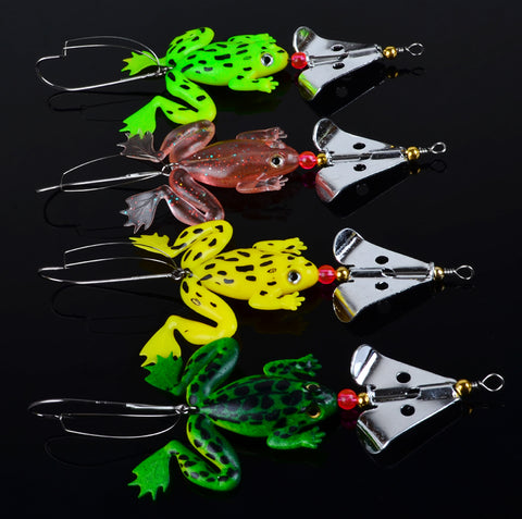 New frogs Fishing Lure Set 4pcs/LOT - fishingstore