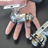 Mini spinning fishing reel  ultra-light - fishingstore