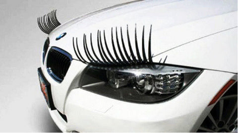 Vehicle Headlight Eyelashes