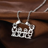 Family Love Charm Necklace