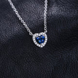 Heart Of The Ocean Solitaire Pendant