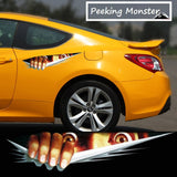 Peeking Monster Decal