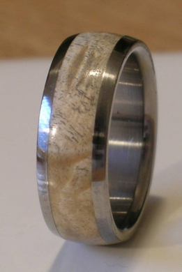 Tungsten Wood Ring Custom Wedding Band Natural Maple Burl Inlay Comfort Fit Rings Available for Men and Women Bands Sizes 4-18