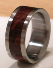 Tungsten Wooden Wedding Band DESERT IRON WOOD Mens or Ladies Ring Size 4-18 Rings