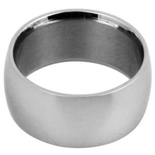 Silver Wedding Band Sterling 925 Polished Finish 12mm Custom Made Size 5 6 7 8 9 10 11 12 13 14 15