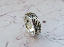 Celtic Wedding Band 14kt Yellow Gold & Sterling Silver 925 Custom Made Rings Designed For Men or Womens Size 4 5 6 7 8 9 10 11 12 13 14 15