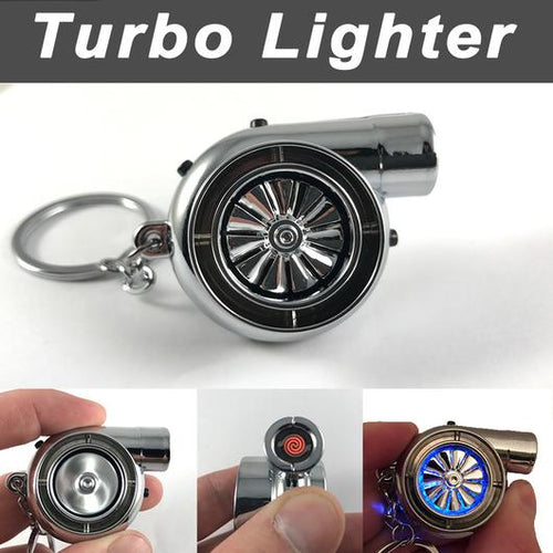 Turbo Keychain Lighter