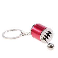 Stick Shift 6-Speed Keychain