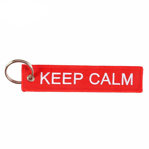 KEEP CALM Key Tag