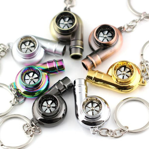 Real Whistle Sound Turbo Keychain