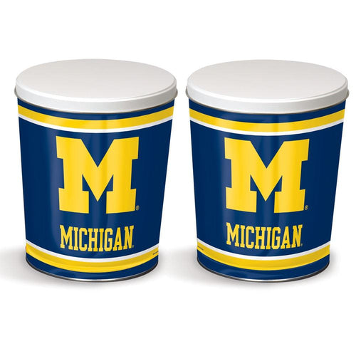 University of Michigan Tin - 3.5 Gallon