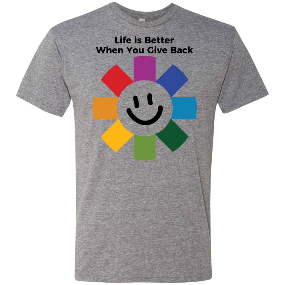 Life Is Better - Next Level Men's Triblend T-Shirt