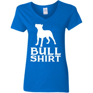 Ladies Bull Shirt V-Neck T-Shirt