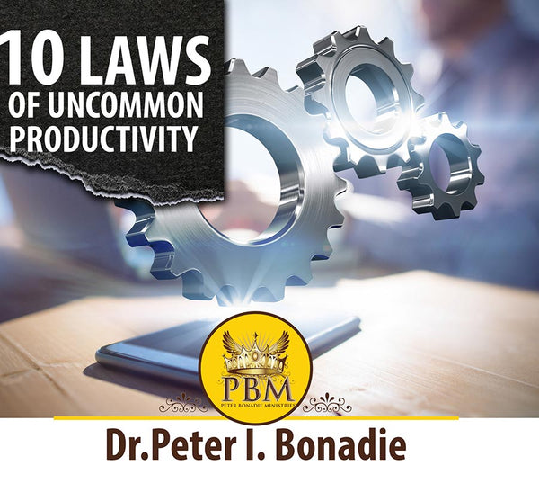 10 Laws of Uncommon Productivity CD