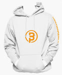 Unstoppable Logo Print Hoodie - White