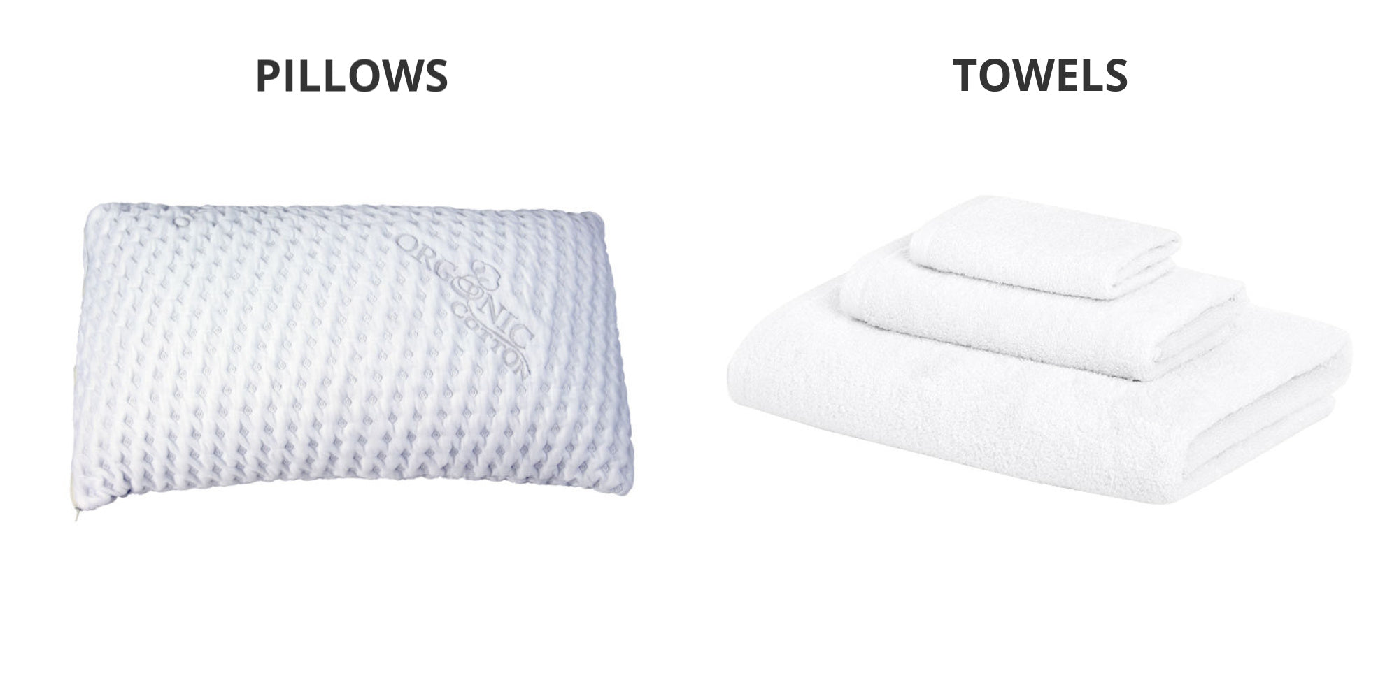 Pillows & Towels | Good Host Shop