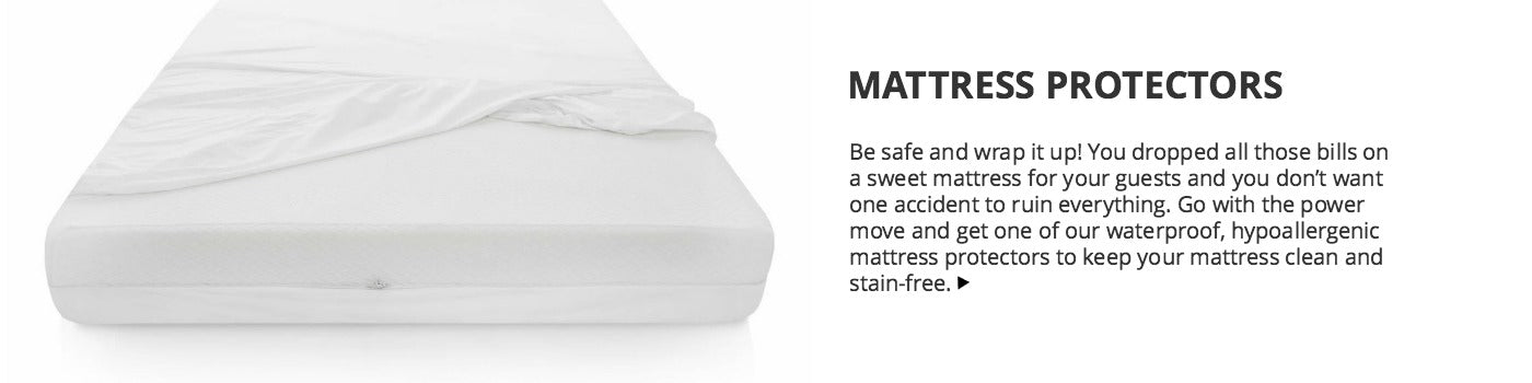 Short Term Rental Mattress Protectors for Airbnb and Vacation Rentals