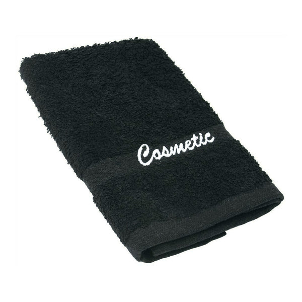 Black Cosmetics Washcloths Short Term Vacation Rental Good Host Shop